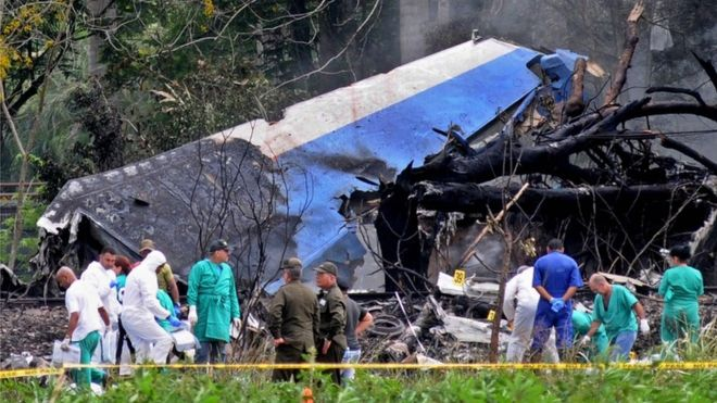 Havana plane crash leaves more than 100 dead