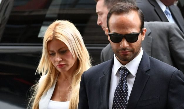 George Papadopoulos: Ex-Trump adviser jailed in Russia inquiry