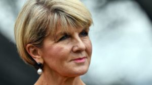 Julie Bishop: Australia MP says parliament behaviour 'appalling'