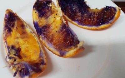 Orange turns purple: Australian scientists solve fruit mystery