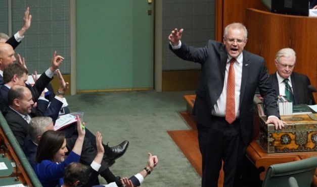 Scott Morrison: Australia PM puts hands up over 'not OK' lyrics