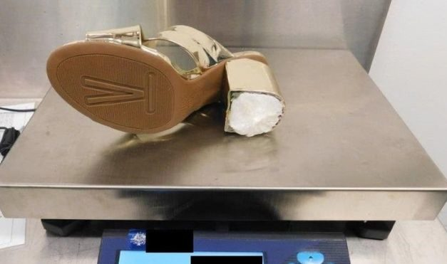 US woman jailed for smuggling cocaine in high heels