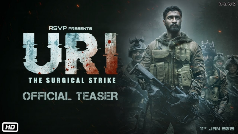 URI Movie – Starring Vicky Kaushal, Yami Gautam
