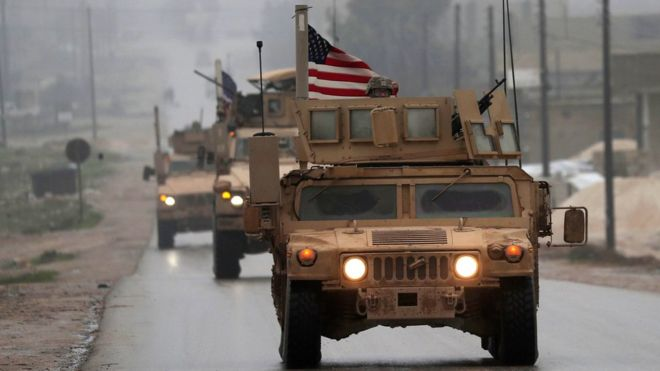 Syria conflict: Bolton says US withdrawal is conditional