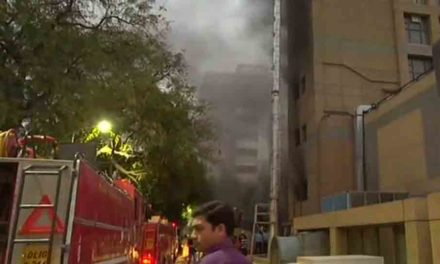 Fire Breaks out at AIIMS Trauma Centre in Delhi
