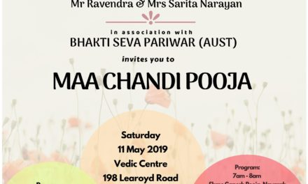 Bhakti Seva Pariwar Invites You to Maa Chandi Pooja