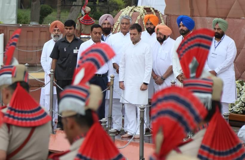 Jallianwala Bagh Massacre 100th Anniversary: PM Modi President Kovind Rahul Gandhi Pay Respects to Victims