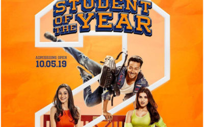 Student Of The Year 2 – Starring Tiger Shroff – Release 10th May 2019