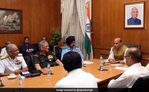 Rajnath Singh Flies To Siachen Today