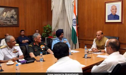 Rajnath Singh Flies To Siachen Today His First Visit As Defence Minister