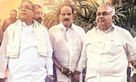 Another Congress MLA Joins Karnataka Rebels in Mumbai