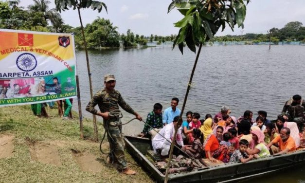 Assam Floods: Army Organises Medical, Veterinary Camps to Check Waterborne Diseases