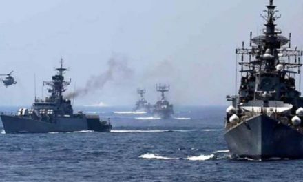 Indian Navy Trains with Japan, US Navies in Mine Warfare Exercises