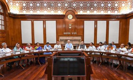 PM Meets Cabinet Amid Kashmir Turmoil, One-On-One With Amit Shah Before