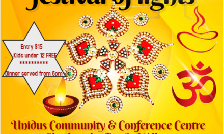 Diwali Festival of Lights at Unidus Community and Conference Centre