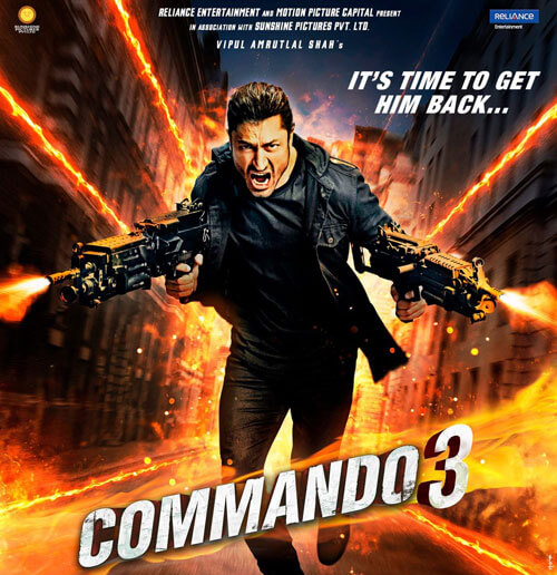 Commando 3 – Official Trailer – Vidyut, Adah – 29 November 2019