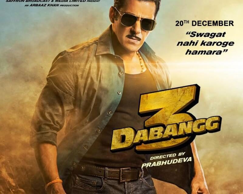 Dabangg 3: Official Trailer – Salman Khan – 20 December 2019