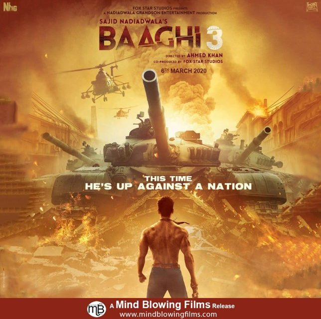 Baaghi 3 Official Trailer – Tiger Shroff ,Shraddha