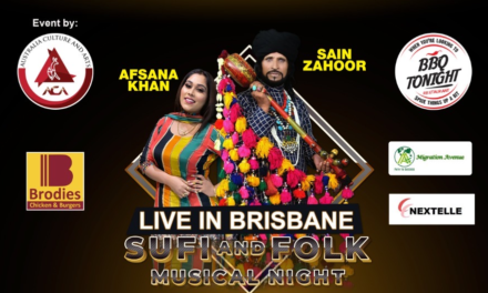 Sufi and Folk Musical Night Live in Brisbane – Sain Zahoor, Afsana Khan